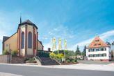Euerdorf Kirche und Museum Terra Triassica