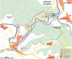 Wanderwege Geologische Erlebnis-Punkte Euerdorf